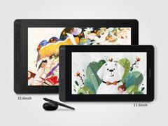 绘王Kamvas 12、Kamvas 16(2021)数位屏发售,配全新硬笔